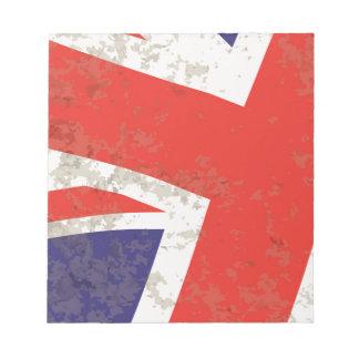 Union Jack Notepad