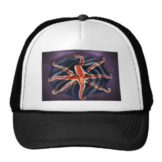 Union Jack Octopus Cap