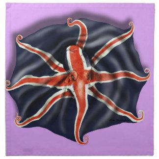 Union Jack Octopus Light Napkin