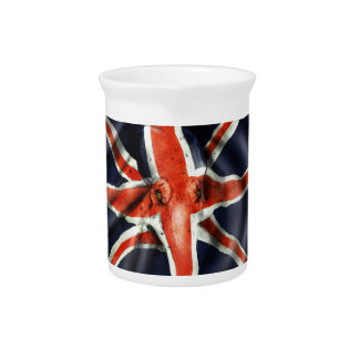 Union Jack Octopus Light Pitcher
