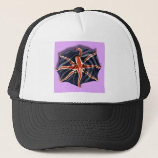 Union Jack Octopus Light Trucker Hat