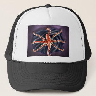 Union Jack Octopus Trucker Hat