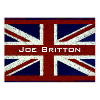 Union Jack Pack Of Chubby Business Cards