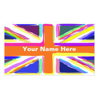 Union Jack Pack Of Standard Business Cards