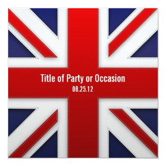 Union Jack Party Invitation / UK Party Invitation