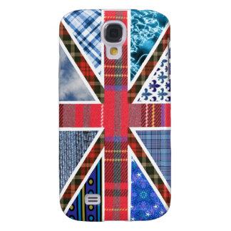 Union Jack Patchwork Pattern Galaxy S4 Case
