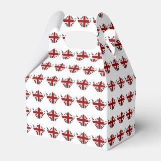 Union Jack Patriotic English Tea Kettle Favour Box