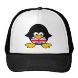 Union Jack Penguin Mesh Hats