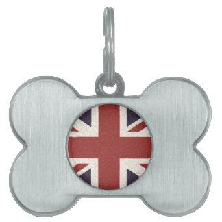 Union Jack Pet ID Tags