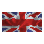 Union Jack Picture Card