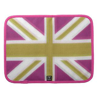 Union Jack  Pink Folio Planner