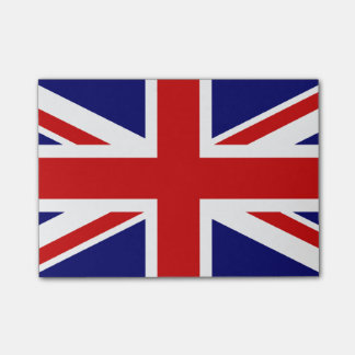 Union Jack Post-it Notes
