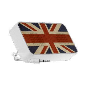 Union Jack Retro iPod Speakers