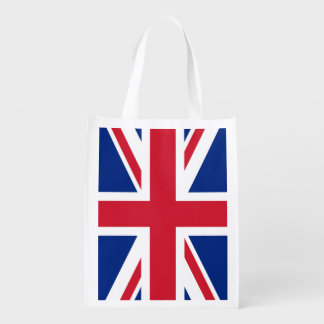 Union Jack Reusable Grocery Bag