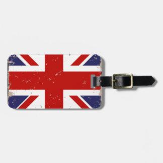 Union Jack Shabby Chic Bag Tag