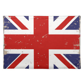 Union Jack Shabby Chic Placemat