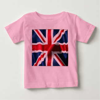 Union Jack Silky Baby T-Shirt