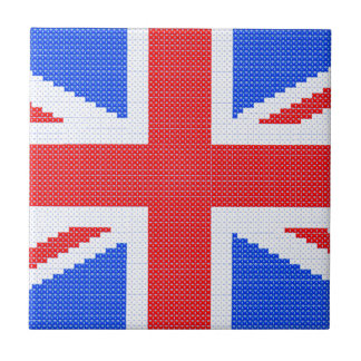 Union Jack Small Square Tile
