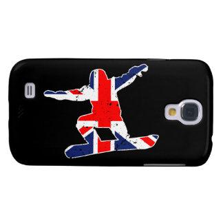 Union Jack SNOWBOARDER (wht) Galaxy S4 Case