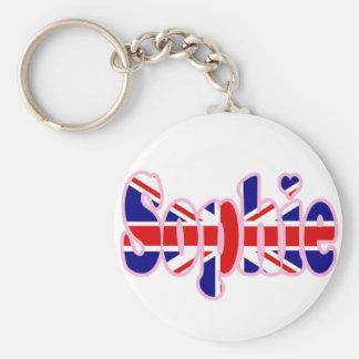 Union Jack Sophie Key Chain