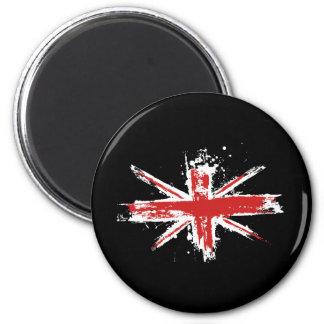 Union Jack Splatter Magnet