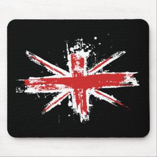 Union Jack Splatter Mousepad