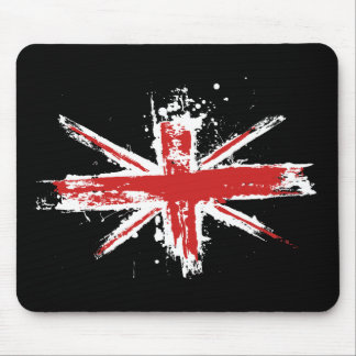 Union Jack Splatter Mousepad
