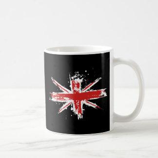Union Jack Splatter Mug