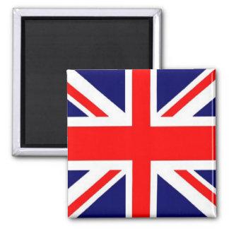 Union Jack Square Magnet