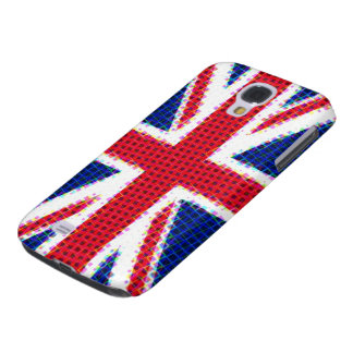 Union Jack Squares Galaxy S4 Case