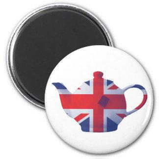 Union Jack Teapot Magnet