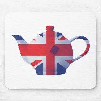 Union Jack Teapot Mouse Mat