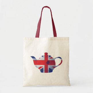 Union Jack Teapot Tote Bag
