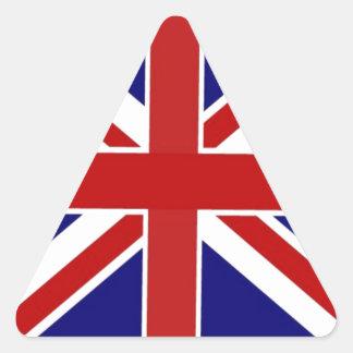 Union Jack Triangle Sticker
