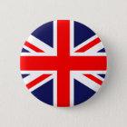 Union Jack - UK Flag 6 Cm Round Badge