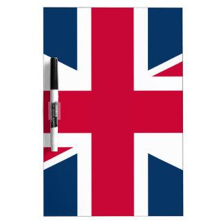 Union Jack UK Flag Dry Erase Board