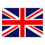 Union Jack - UK Flag Greeting Card