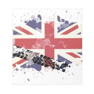 Union Jack UK Flag Notepad
