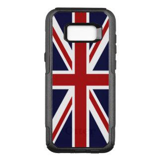 Union Jack UK Flag OtterBox Commuter Samsung Galaxy S8+ Case