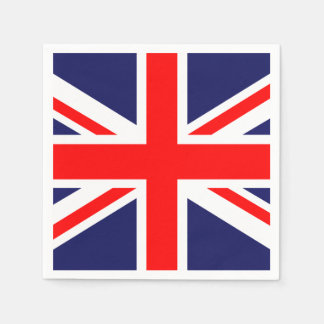 Union Jack - UK Flag Paper Napkin