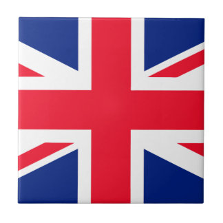 Union Jack - UK Flag Small Square Tile