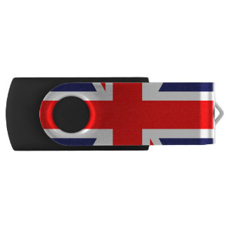Union Jack - UK Flag Swivel USB 2.0 Flash Drive