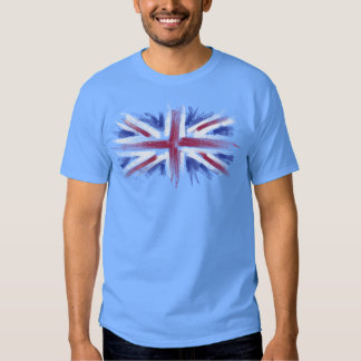 union jack uk flag t shirts