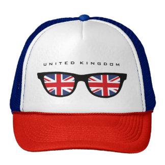 Union Jack UK Shades custom hat