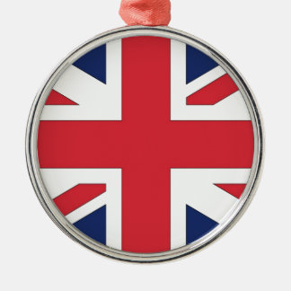 Union Jack/ Union Flag of United Kingdom Christmas Ornament