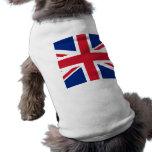 Union Jack United Kingdom British Flag Britain Dog T-shirt