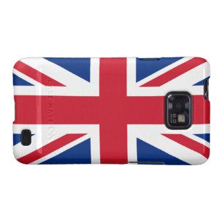 Union Jack United Kingdom Galaxy S2 Cover