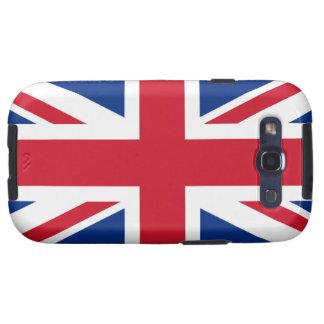 Union Jack United Kingdom Samsung Galaxy SIII Cover