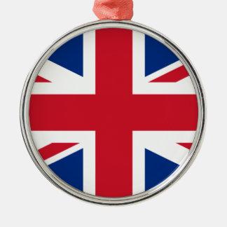 Union Jack United Kingdom Christmas Ornament