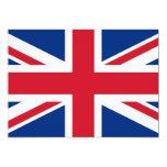 Union Jack United Kingdom 5x7 Paper Invitation Card